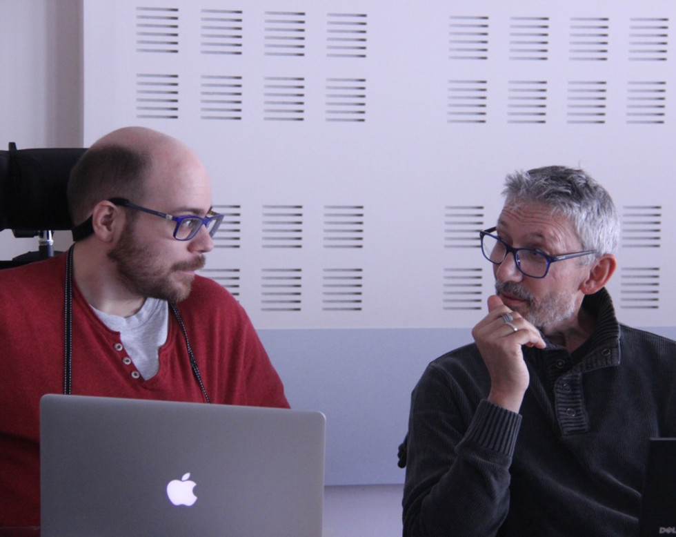 Hugo et Christophe de la Story-badeau