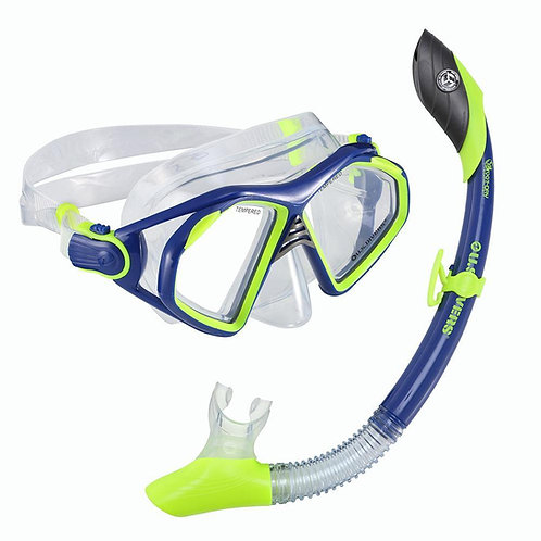 Combo admiral LX/island dry  US  divers  Verde azul