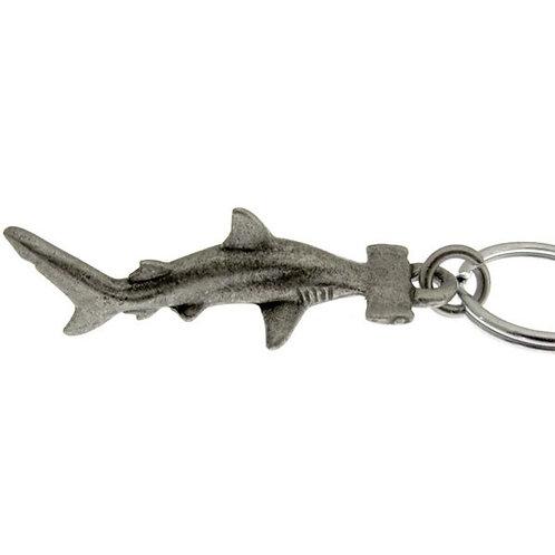 llavero bucear tiburon martillo