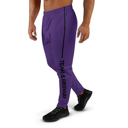 Purple/Black Men's Joggers