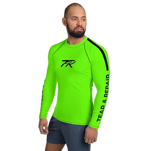 Men's Neon Green Rash Guard