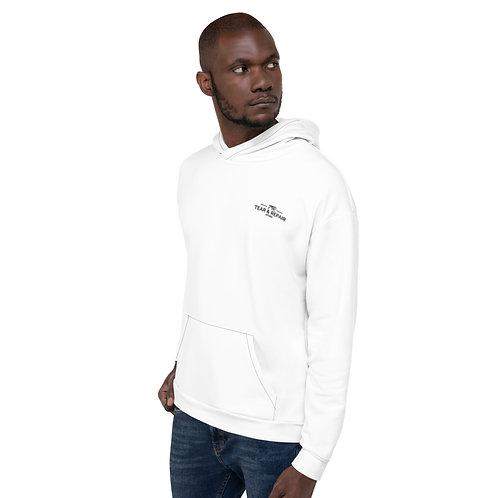 White TR Hoodie - Unisex