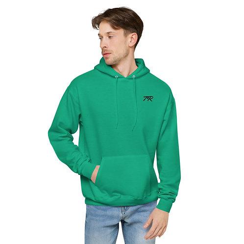 Embroidered fleece hoodie 2