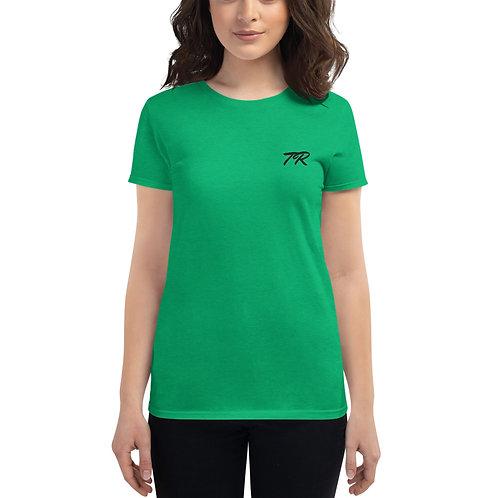 Women's Premium Embroidered T-shirt