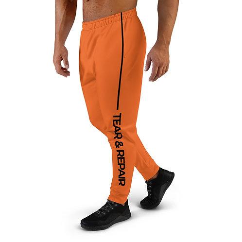 Orange/Black Men's Joggers