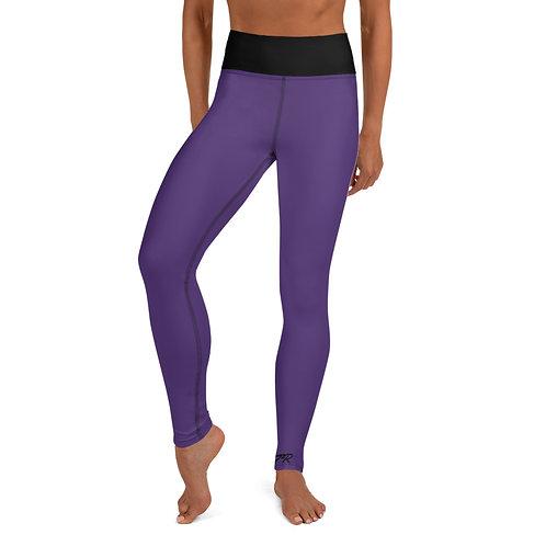 Purple Hashtag Leggings