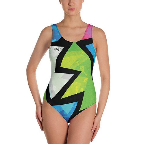 Colour One-Piece Swimsuit