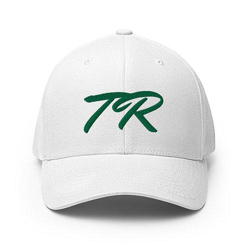 Green Stitch Twill Cap