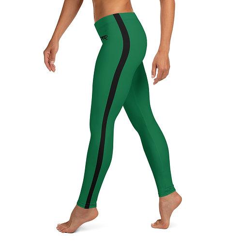 Green/Black Leggings