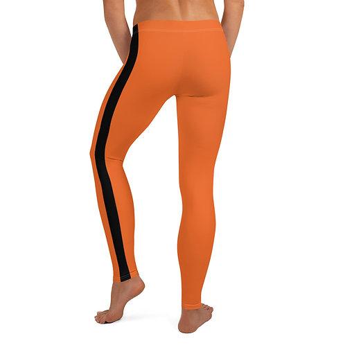Orange/Black Leggings