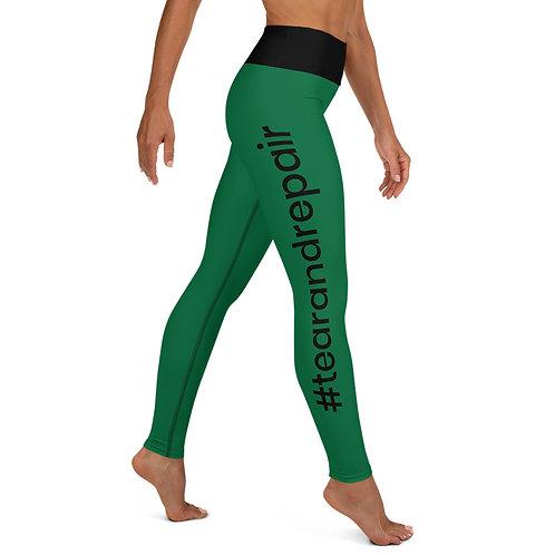 Green TR Leggings
