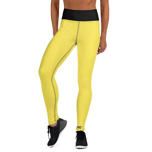 Yellow Hashtag Leggings