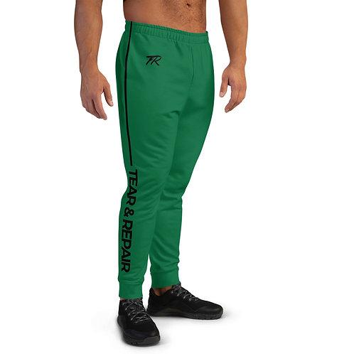 Green/Black Men's Joggers