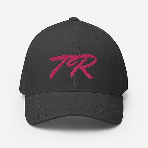 Pink Stitch Twill Cap