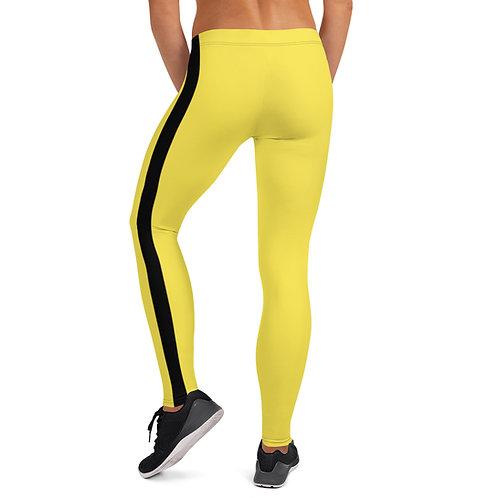 Yellow/Black Leggings