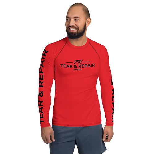 Men's Red/Black Rash Guard