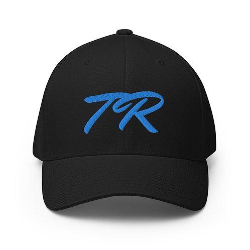Blue Stitch Twill Cap