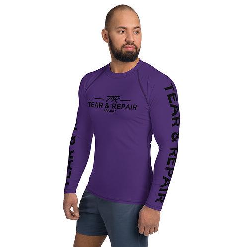 Men's Purple/Black Rash Guard