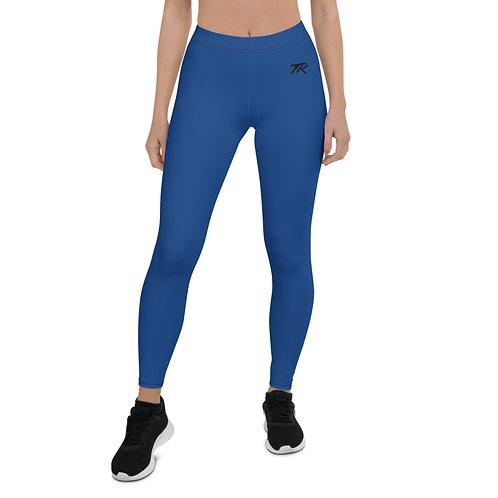 Blue/Black Leggings