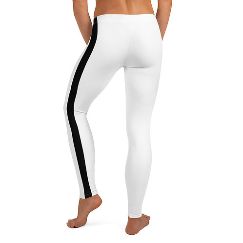White/Black Leggings