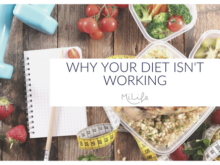 Why your diet isn't working