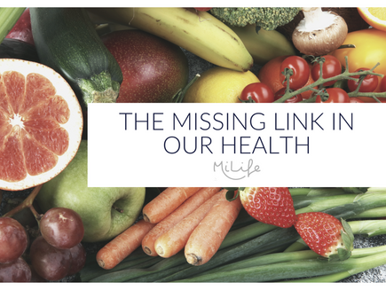 The Missing Link In Our Health