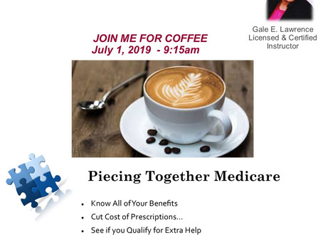 Join Us for Coffee - Every Monday Morning