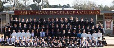 Catholic School nuns students happy
