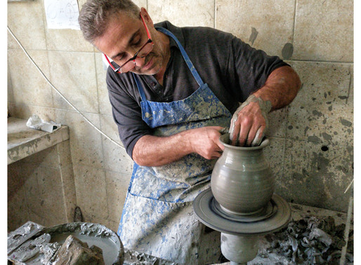 Francesco Motolese:                            Master-Ceramist of Grottaglie