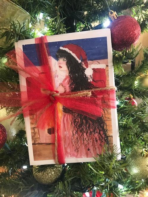 Survivor-Designed Christmas Cards, Pkg. of 5