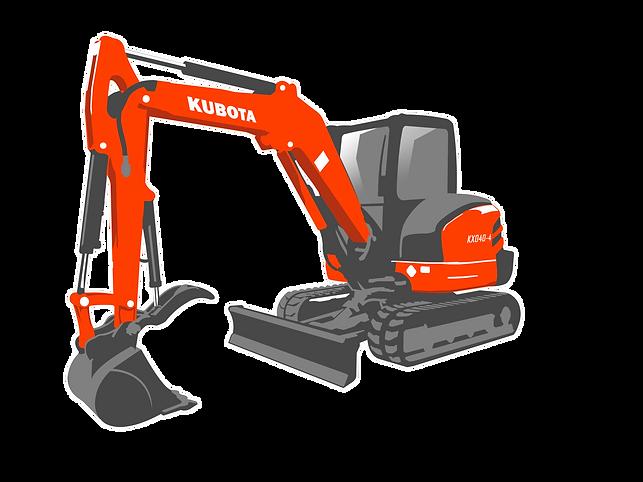 Kubota KX040-4 Excavator
