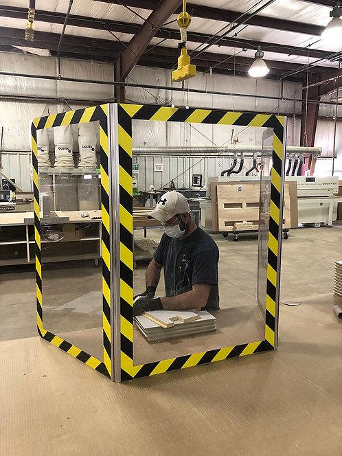 Factory Bench Top Shield