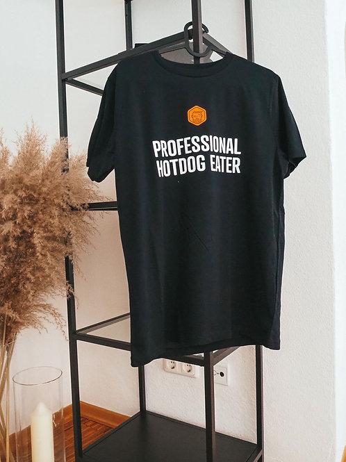 "Shirt ""Professional Hotdog Eater"""