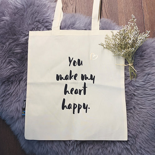 """Happy Heart"" Beutel"