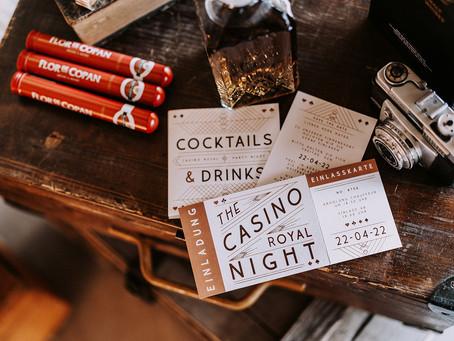 """Das Motto """"Casino Royal"""" für ein Businessevent"""