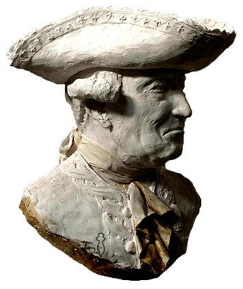 Busto bronce bernardo de gálvez