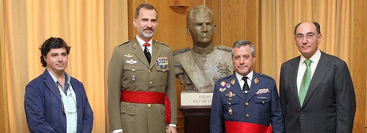 Cesedem inaguración busto FelipeVI