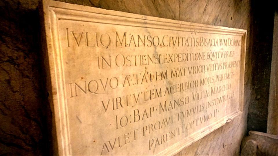 Tomba di Giulio Manso