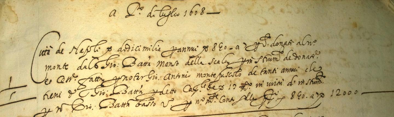1 luglio 1608