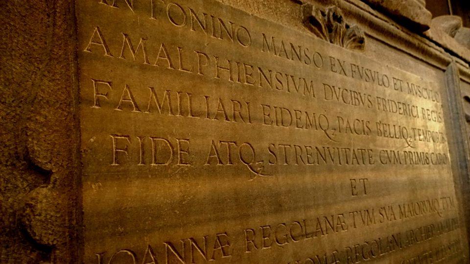 Tomba di Antonino Manso