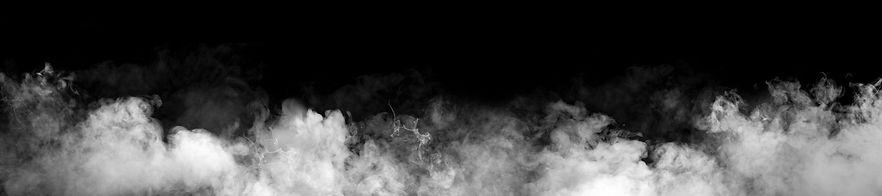 Rauch nach dem schießen mit Schwarzpulver