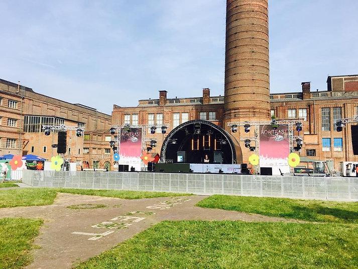Open Air Bühne Kontrast Festival