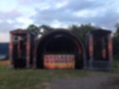Bühnenbau, Festival Bühne