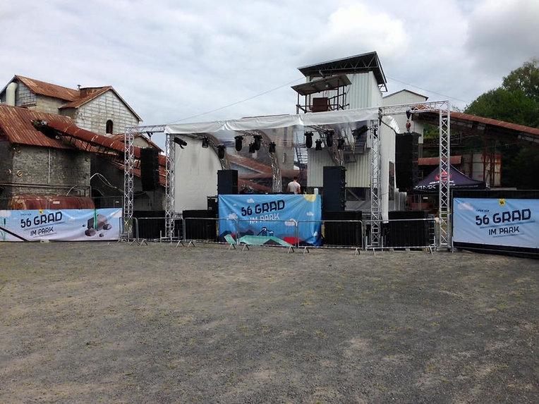 Konzert, Festival Bühne
