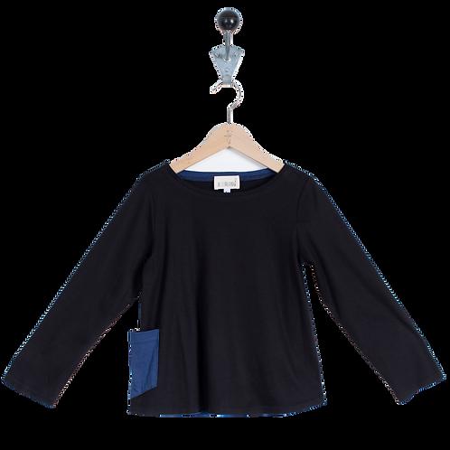Tee Shirt en jersey Noir - Mixte