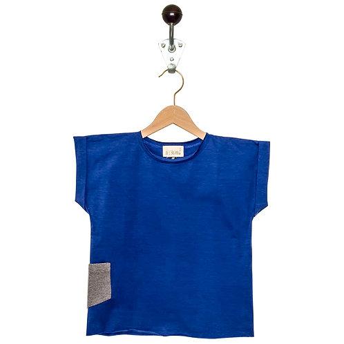 Tee Shirt Leon Col Electric