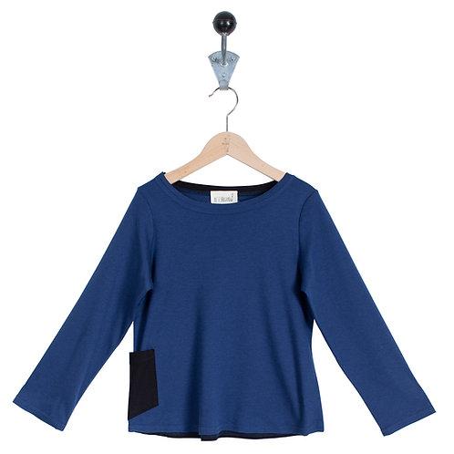 Tee Shirt Patrick Col Bleu