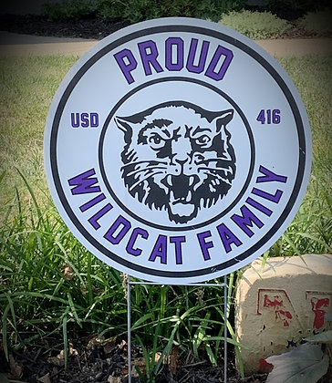Wildcat Pride Yard Sign