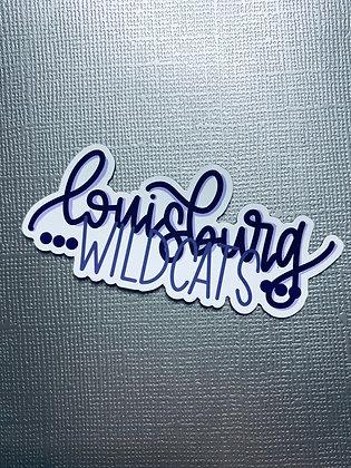 Louisburg Wildcats Magnet