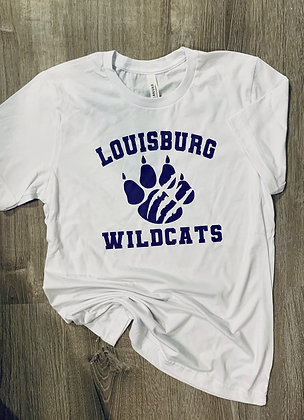 Wildcat Claw Print Youth & Adult Tee
